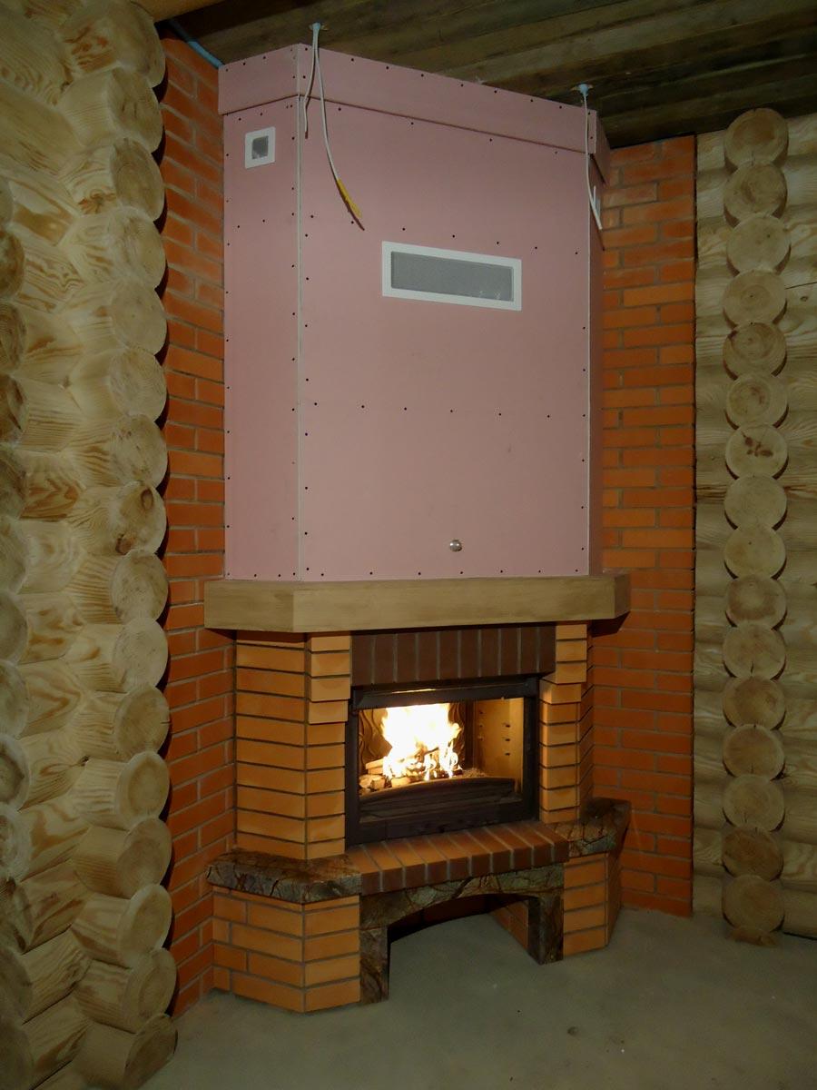 теплообменник для воды в дымоход для бани