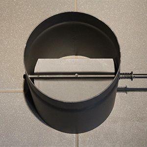 Шибер на дымоход на 180 производитель дымоходов из нержавеющей стали екатеринбург