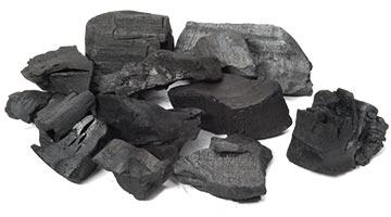 Кусковой древесный уголь для мангала