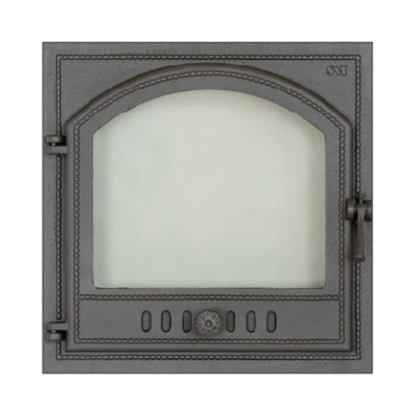 Печная фурнитура дверцы с огнеупорным стеклом